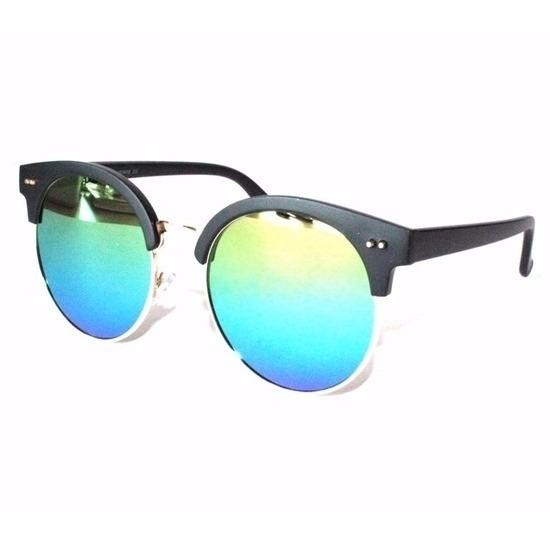 105c8059279cef Ronde spiegel dames zonnebril model 1398. Een modieuze zonnebril met ...